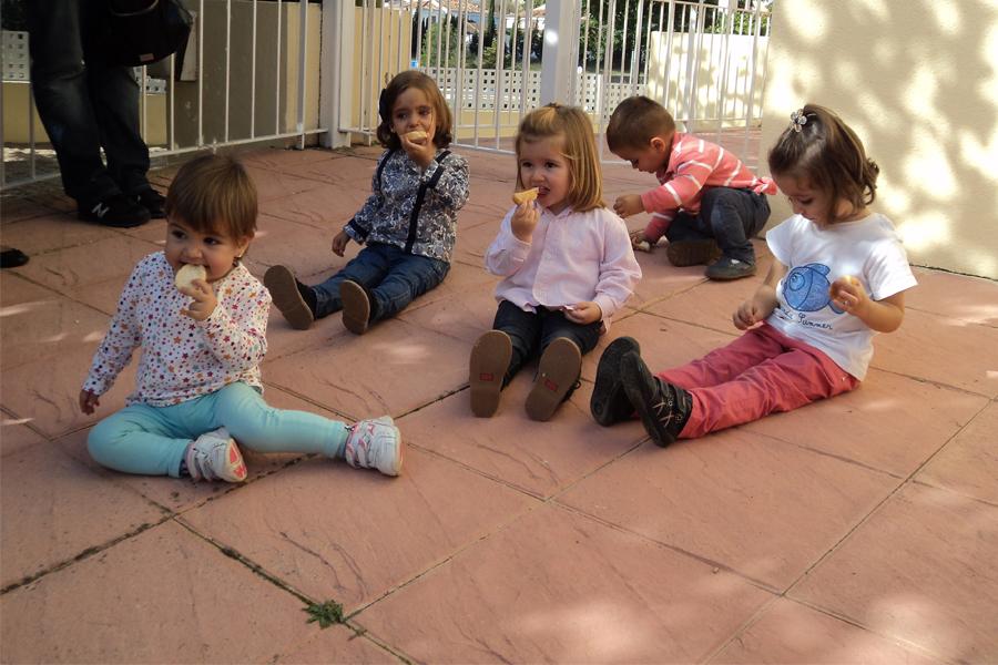 niños membrillo