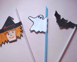 Pajitas para Halloween